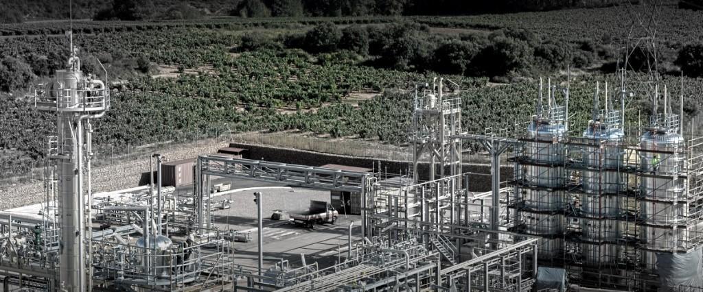 Planta energética. Inauguración