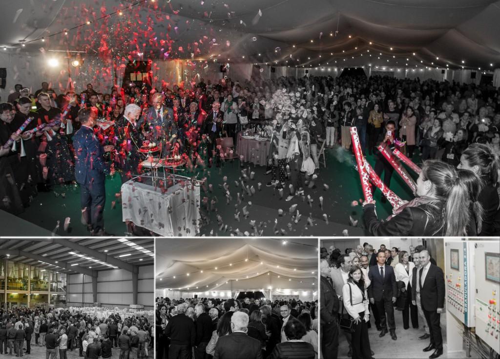 Evento Aniversario Inauguración de fábrica
